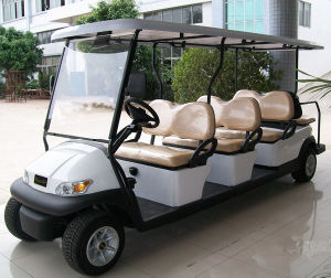 Cheap 8 People Electric Golf Car for Sale pictures & photos