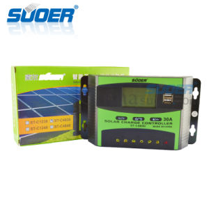Suoer 48V 30A Solar Charging Controller (ST-C4830) pictures & photos