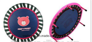 2017 Hot Sell Round Fitness Mini Trampoline Indoor for Adult pictures & photos