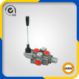 2 Levers Handle Control Spool Valve Hydraulic Directional Monoblock Valve pictures & photos