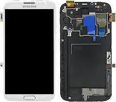 OEM Digitizer Screen LCD Assembly for Samsung Galaxy Note2 Frame pictures & photos