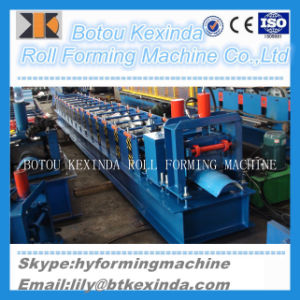 Chinese Standard Automatic Metal Steel Roof Ridge Cap Roll Forming Machine pictures & photos