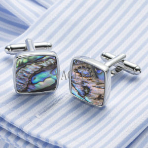 Mens Cuff Link Rare Abalone Shell Cream Shell Cufflinks Various Style 390 pictures & photos