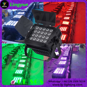 Waterproof IP65 20X15W RGBWA 5in1 Flat LED PAR pictures & photos