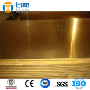Copper Sheet for Casting Product Cc750s Cuzn33pb2 pictures & photos