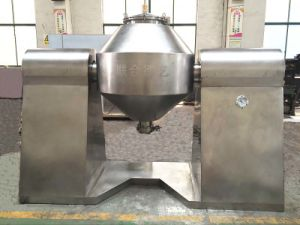 Szg-350 Pharmaceutical Double Cone Rotary Vacuum Drying Machine pictures & photos