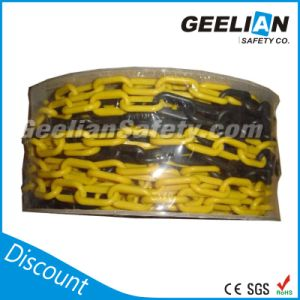 Colorful Traffic 3mm Plastic Chain, Caution Chain Safety Chain pictures & photos