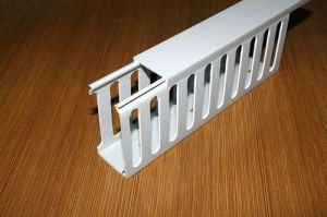 PVC Cable Tray Wiring Ducts pictures & photos