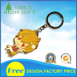 Lovely Cartoon Figure PVC Keychain Customization pictures & photos