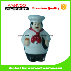 Ceramic Head Chef Figurine for Kitchenware, Kitchen Product pictures & photos