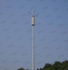 Galvanized Self Support Communication Pole pictures & photos