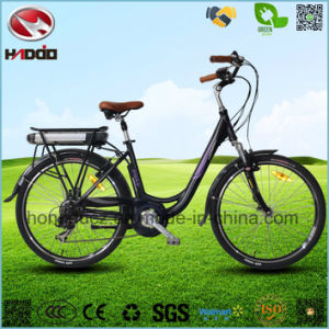 Alloy Frame 250W Ebike Electric City Road Scooter Hydraulic Front Fork pictures & photos