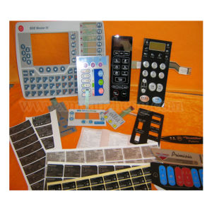 Custom Membrane Switch Panels, Electronic Stickers pictures & photos