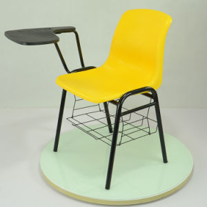 Hot Sale School Student Chair with Writing Pad pictures & photos