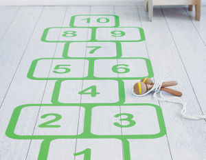 Temporary Signs Floor Decals Educational Fun Role Floor Stickers pictures & photos