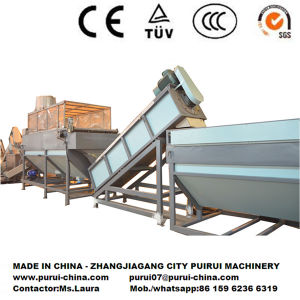 Waste HDPE Rigid Plastic Recycling Machine pictures & photos
