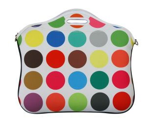 Neoprene Woman Laptop Bag Tote Bag with Handle pictures & photos