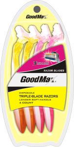 3 Blade Disposable Shaving Razor Goodmax pictures & photos
