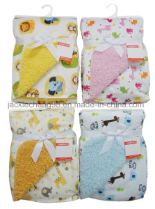 Micro Mink Printed Baby Blanket (OV003) pictures & photos