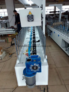 HDF Board Decorative Woodworking Wrapping Machine pictures & photos