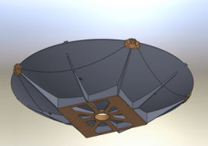 2.4m Foldable Carbon Fiber Vehicle-Mounted Satellite Antenna pictures & photos