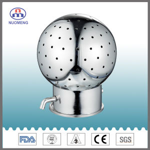 Sanitary Stainless Steel Bolted Rotary Cleaning Ball pictures & photos