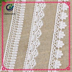Wholesale Decorative Lace 100% Polyester New Fancy Lace Trim pictures & photos