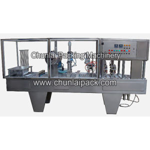 Yogurt Cup Filling Sealing Machine pictures & photos