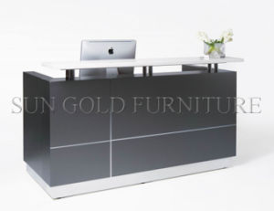fashion Modern Cashier Desk Counter Reception Desk (SZ-RT050) pictures & photos