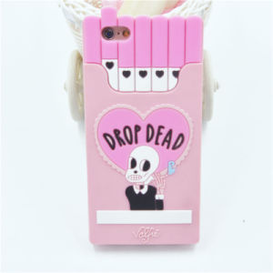 New Designs Silicone Cigarette Case for iPhone 6 6splus 7 7plus Soft Cartoon Productions