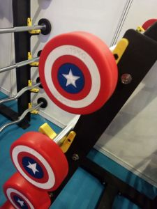 2017 Captain America PU Barbell (SA24-A) pictures & photos