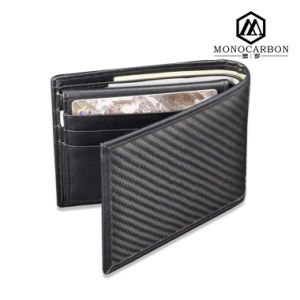 Best Selling Magic Leather Men Promotional Wallet Custom Black Wallet pictures & photos