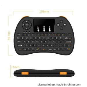 Android TV Box Using 2.4G Wireless Mini Keyboard H9 Fly Air Mouse Keyboard Mouse for Fire TV Stick pictures & photos