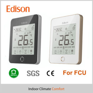 LCD Touch Screen House Room Thermostat Programmable (TX-937) pictures & photos