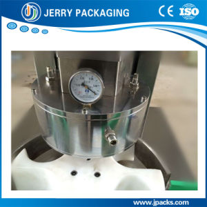 Auto / Automatic Food Glass Bottle Vacuum Screwing / Capping Cap Machine pictures & photos