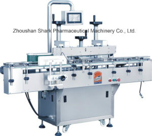 Automatic Pharmaceutical Flat Bottle Labeling Machine pictures & photos
