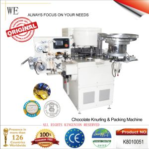 Chocolate Knurling & Packing Machine (K8010051) pictures & photos