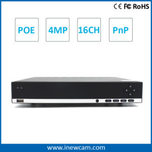 New Arrival H. 264 4MP Poe P2p 16CH Network DVR pictures & photos