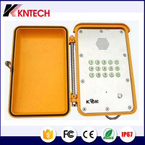 Dust Proof Telephone Weatherproof Emergency Hands Free Phone Knsp-13 pictures & photos