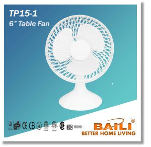 "6"" Table Fan with Elegant Design pictures & photos"