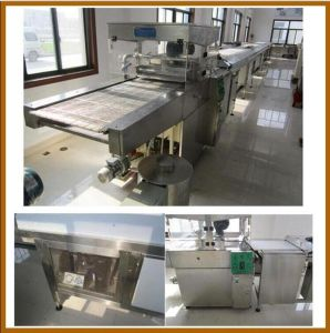 Best Price Htl-T400/600/900/1200 Best Price Chocolate Coating Machinery Cereal Bar Enrobing Line Chocolate Enrobed Candy Making Machine pictures & photos