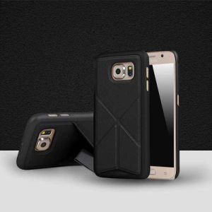 Anti Fall Leather Holder Phone Case for Samsung Note 5 pictures & photos