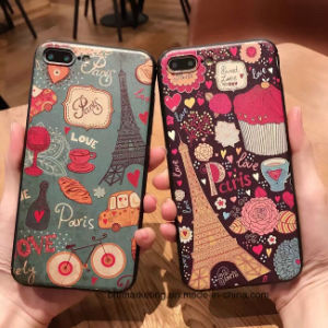 2D Touch Feeling Cartoon Mobile Cell Phone Case for iPhone 8/8plus7/7plus/6s/6splus pictures & photos