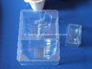 Clear PVC Blister Tray for Cup Bowl Set PVC Plastic Blister Tray pictures & photos