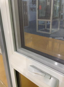 Aluminum Chain Winder Awning Window with Double Tempered Glass (PNOC-CWW006) pictures & photos
