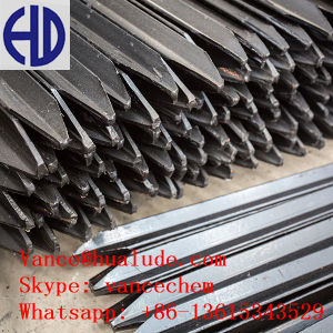 1.65m Length Black Bitumen Coated Star Picket pictures & photos