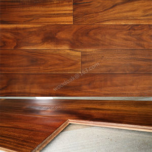 Hardwood Flooring Solid Small Leaf Acacia Wood Flooring/Engineered Flooring pictures & photos
