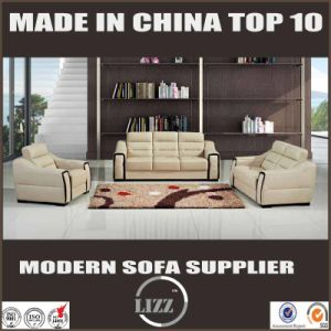 Top Grade Latest 123 Leather Couch pictures & photos