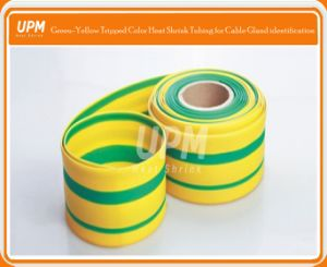 2: 1 Green/Yellow Heat Shrink Sleeve for Wire/Cable Marks pictures & photos