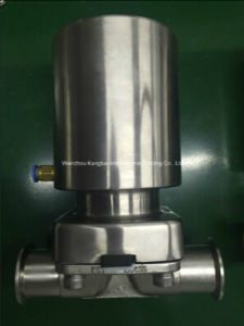 Full Stainless Steel Pneumatic, Clamp, Sanitary Diaphragm Valve pictures & photos